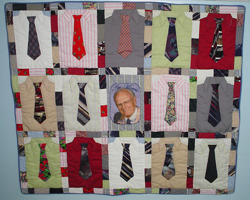 Quilts for Sale : mens tie quilt - Adamdwight.com